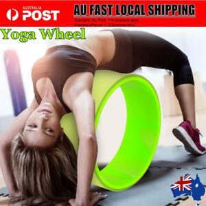 Yoga-Wheel-Relieve-Stress-Balance-Exercise-Fitness-Equipment-Mat-Ball-Shape-AU