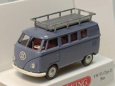 Wiking VW T1 Bus Typ 2 #078810 1:87 taubenblau