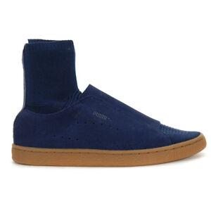 PUMA Men's Suede Classic X Poggy Indigo Blue/Gum Shoes 36630501 NEW!