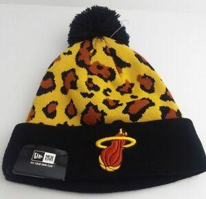 700ce8d8 Miami Heat Knit Pom Beanie/NBA/Winter Hat/New Era/Hardwood Classic ...