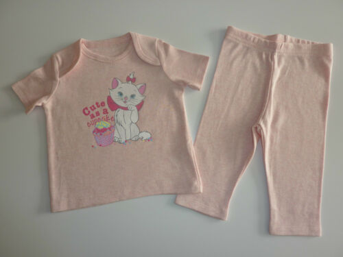 "DISNEY Really Cute Aristocats MARIE /""Cute as a Cupcake/"" Pink PJ/'s NEW"