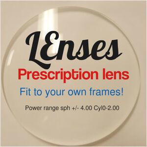 db14a9d85296 Single-vision lenses to your own frame -2.0,-3.0,-4.0 Prescription ...