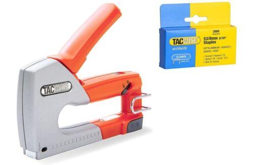 Z1-53 And 2000 Staples Tacwise Professional Staple Gun Hand Stapler Tacker Gun