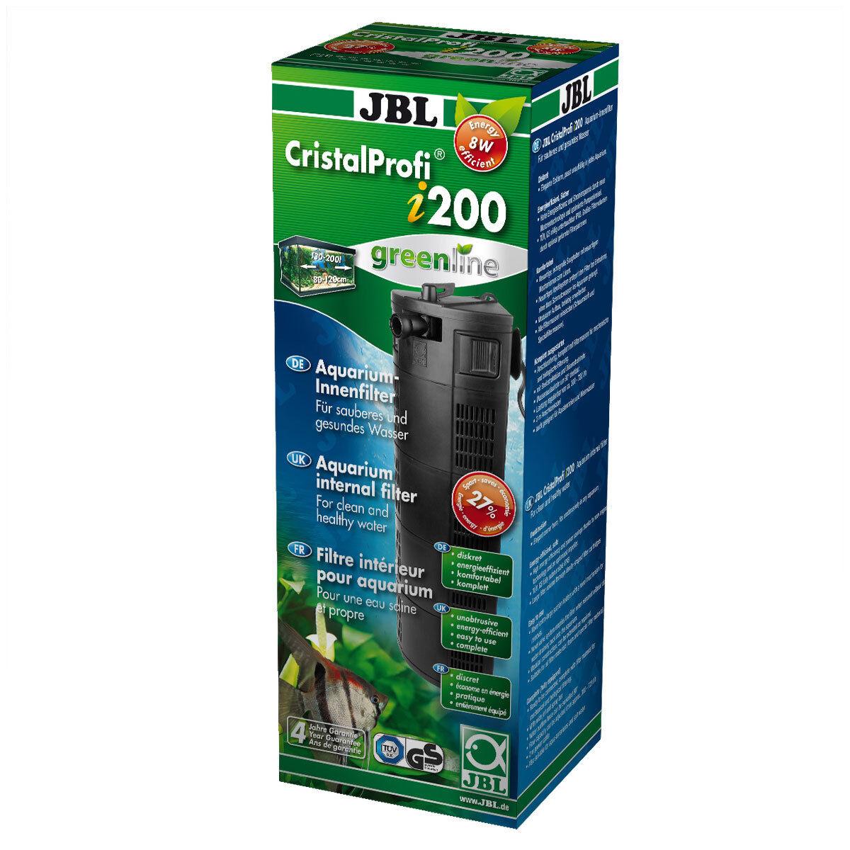 JBL Cristal Profi I200 Greenline, Filtre Intérieur pour 130-200l Aquariums