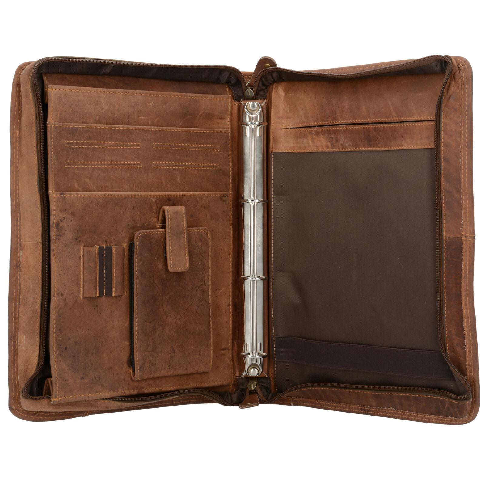 Harold's Antico Schreibmappe Aktenmappe Leder 34 cm (natur) | Shop  | München Online Shop  | Qualitätskönigin