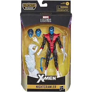 Marvel-Legends-NIGHTCRAWLER-6-Inch-Premium-Figure-Hasbro-BAF-Wendigo-Wave-X-Men