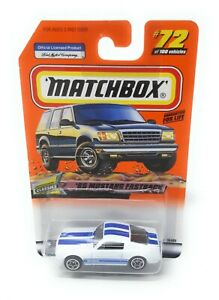 Matchbox-MBX-Superfast-1999-No-72-1965-Mustang-Fastback-USA-exlusiv-Modell