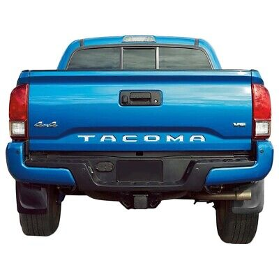 2019 Toyota TUNDRA Tailgate Rear Stainless Steel Chrome Letters Inserts Set