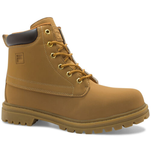 Fila Edgewater 12 Tan Work Boots For Men Shoes New In Box