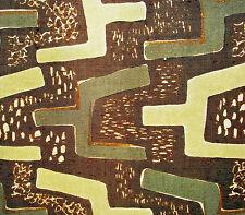 Vintage mid century mod Eames era Magnets cotton fabric drapery curtain panel!