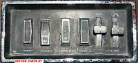66-73 Jeepster Commando Switch Panel Decal,modified, Upgrade Your Switches