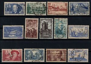 PP135345-FRANCE-STAMPS-YEARS-1938-1939-USED-SEMI-MODERN-LOT-CV-179