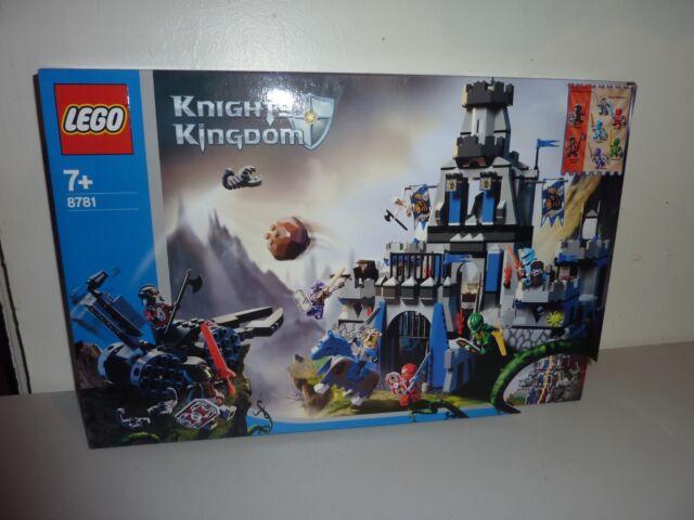 lego 8781 knights kingdom castle of morcia new sealed nr mint