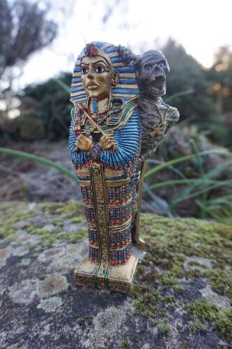 Hf1021 sattuette figurine egyptian mummy sarcophagus egypt repro