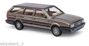 Busch-48121-VW-PASSAT-Variant-METALLICA-Marrone-H0-modello-auto-1-87