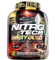 Muscletech Nitro Tech 100% Whey Gold 6lbs