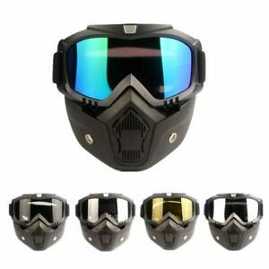 Motorcycle-Face-Mask-Goggles-Motocross-Anti-UV-Off-Road-ATV-MX-Dirt-Bike-Eyewear