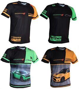 DODGE-T-shirt-Maglietta-Charger-Daytona-Hellcat-Hemi-Challenger-Demon-SRT-GIFT