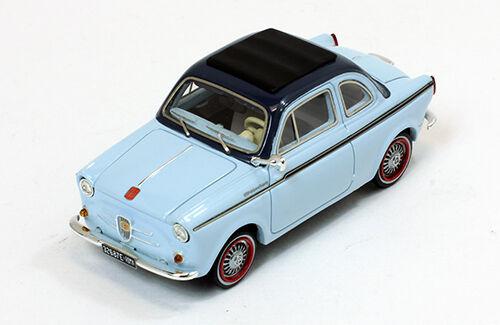 NSU-FIAT Weinsberg 500 1960 Light bluee bluee Premium Premium Premium X  PR0020 1 43 3ebfc6