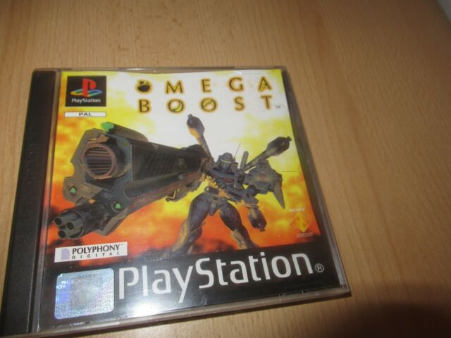 Omega Boost (Sony PlayStation 1, 1999) - European Version