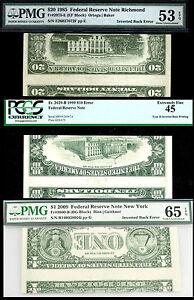 20-10-1-TYPE-II-UNIQUE-SET-IN-THE-WORLD-PMG-53-65-PCGS45-POP-1-NON-EXIST