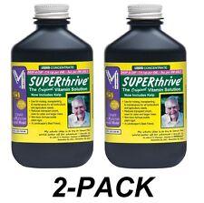 2-PACK SUPERTHRIVE 4oz, B Vitamins Plant Food Fertilizer Hormones super thrive