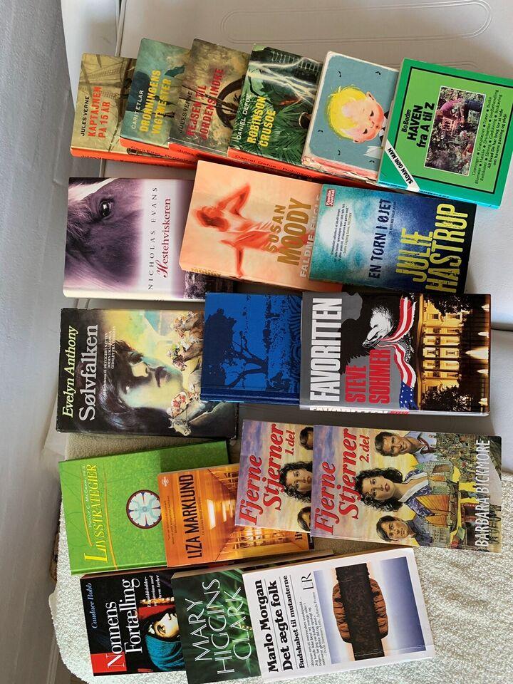 Blandet, Forskellige, genre: roman
