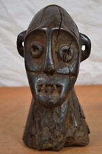 african boa head  statue from DR Congo kisangani