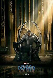 Black Panther Chadwick Boseman Marvel Movie New Chinese Poster 13×20 27×40 48×32
