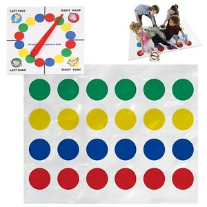 Twister Game Family Moves Education Toys Fun Party Board Game Kids