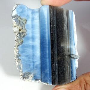 100-Natural-Blue-Opal-Rough-Slab-Cabochon-Loose-Gemstones-Attractive-Look