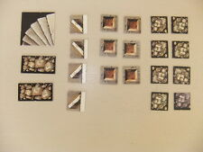 HEROQUEST set complet de 21 tuiles (tiles marker) WARHAMMER GAMES WORKSHOP TILE