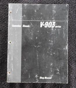 Cummins Engine PARTS CATALOG Book List Manual V-903 903 Factory Service Shop OEM