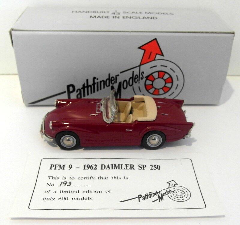Pathfinder MODELS échelle 1/43 PFM9 1962 DAIMLER SP 250 Top Top Top Down 1 de 600 Marron | Moins Cher  | Nouveaux Produits  | Magasiner  4c71d9