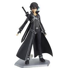 SAO Sword Art Online Kirigaya Kazuto Kirito Figma PVC Action Figure Box CHN Ver