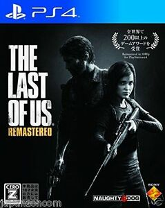 Used-PS4-The-Last-of-Us-Remastered-SONY-PLAYSTATION-4-JAPANESE-IMPORT