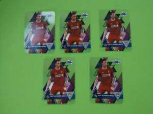 Topps-Champions-League-Crystal-2019-2020-59-TRENT-ALEXANDER-ARNOLD-X-5-CARDS