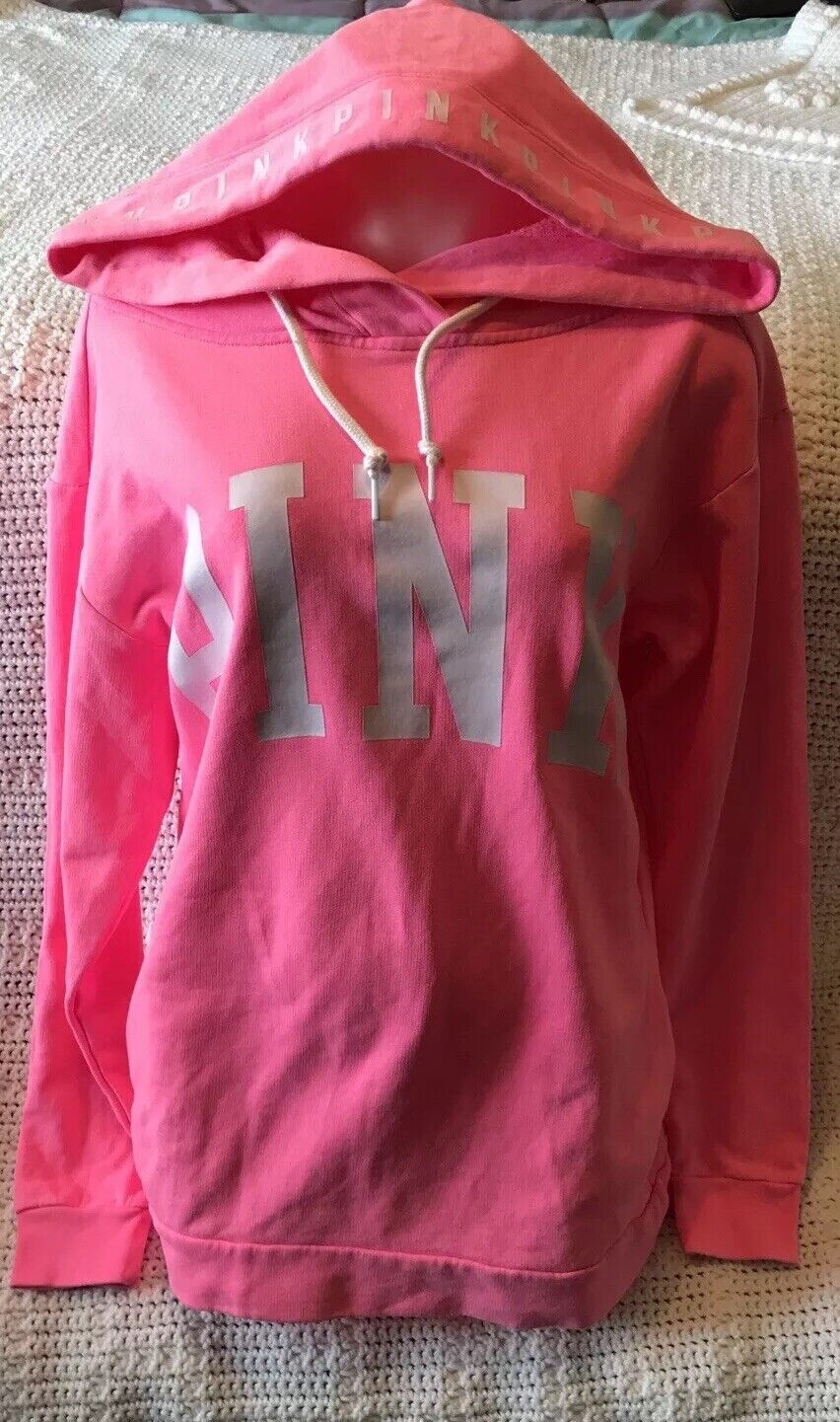 Victoria's Secret PINK Athletic Hoodie size XS XP 84A NWT