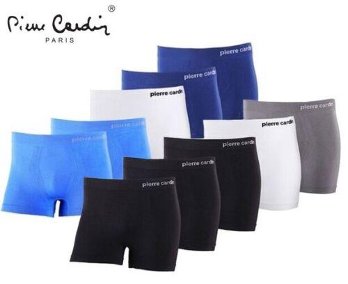 New Mens Pierre Cardin Paris  Underwear Seamless Boxer Shorts Pack of 4 /& 5