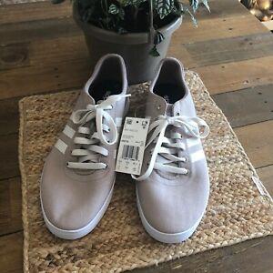 NWT-Adidas-Easy-Vulc-2-0-Men-039-s-Sneakers-Trace-Khaki-Raw-White-Cloud-White-EE6782