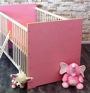 babybett gitterbett komplett set jugendbett matratze. Black Bedroom Furniture Sets. Home Design Ideas