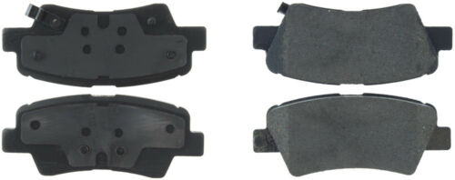 Disc Brake Pad Set-Premium Ceramic Pads with Shims Rear Centric 301.18480