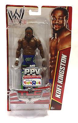 Kofi Kingston-Basic boppv Series 2013-WWE Mattel Wrestling Figure