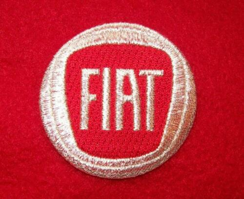 FIAT  iron on 100/% embroidered embroidery patch  PATCHES AUTO CAR  ItaLY