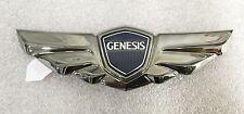 Hyundai GENESIS Sedan 2008-2013 OEM GENUINE Wing Emblem Tail Rear Black Chrome