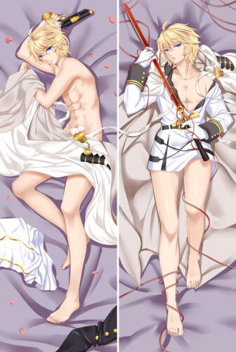59/'/'Anime Seraph of the end Mikaela Hyakuya Dakimakura Pillow Case Hugging Body