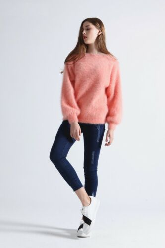 10 colors 60% Angora 40% LANA PULLOVER wool jumper sweater Mink Cashmere