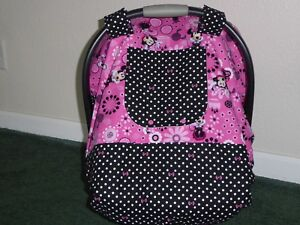 Image Is Loading MINNIE MOUSE W Polka Dots Fitted Handmade Baby
