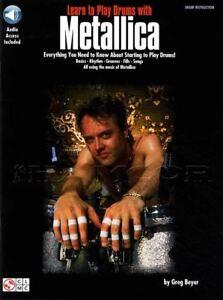 Apprendre à Jouer De La Batterie Avec Metallica Sheet Music Livre Audio/mode-afficher Le Titre D'origine