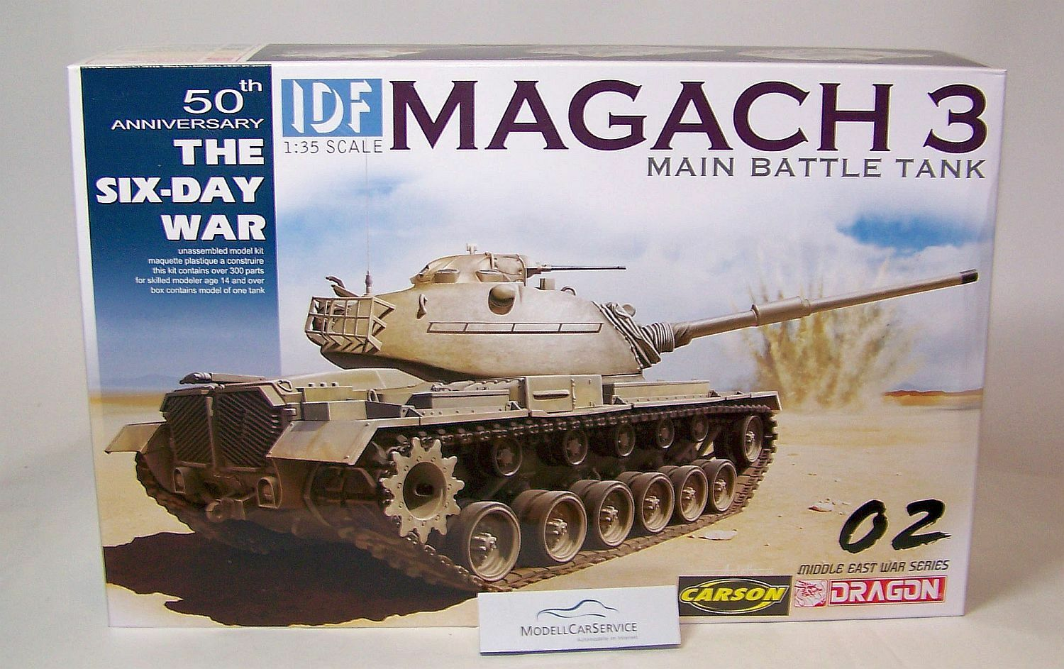 Dragon 1 35  3567 Battle Tank Magach 3 Idf (Israeli Armed Forces)